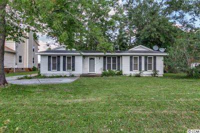 Surfside Beach Single Family Home For Sale: 720 2nd Ave. N