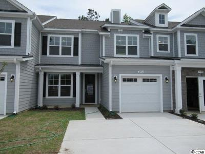 North Myrtle Beach Condo/Townhouse For Sale: 2402 Kings Bay Rd. #Lot 02