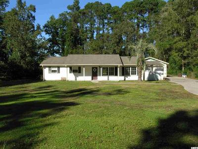 Myrtle Beach SC Single Family Home For Sale: $169,900