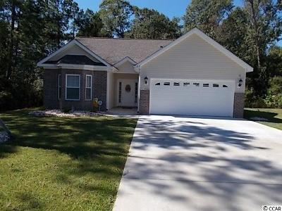 Myrtle Beach SC Single Family Home For Sale: $195,000
