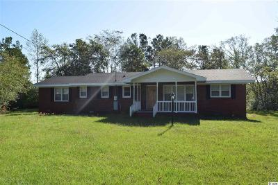 Conway SC Single Family Home For Sale: $122,000