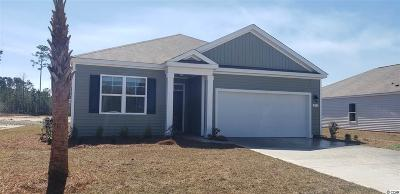 Myrtle Beach SC Single Family Home Active-Pend. Contingent Contra: $209,275
