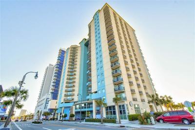 Myrtle Beach, North Myrtle Beach Condo/Townhouse For Sale: 504 N Ocean Blvd. #709