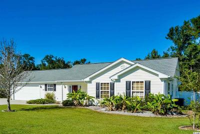 Myrtle Beach Single Family Home For Sale: 1116 Jumper Trail Circle