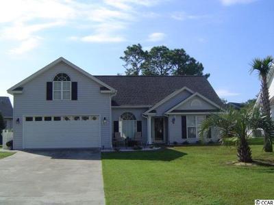 Surfside Beach Single Family Home For Sale: 1476 Avalon Dr.