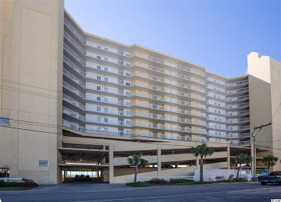 North Myrtle Beach Condo/Townhouse For Sale: 5404 N Ocean Blvd. #5F