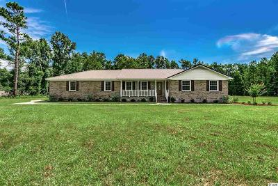 Conway Single Family Home For Sale: 4320 Pee Dee Hwy.
