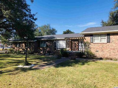 Georgetown Single Family Home For Sale: 1204 Cuttino St.