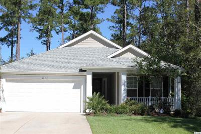 Georgetown County, Horry County Single Family Home For Sale: 645 Grand Cypress Way