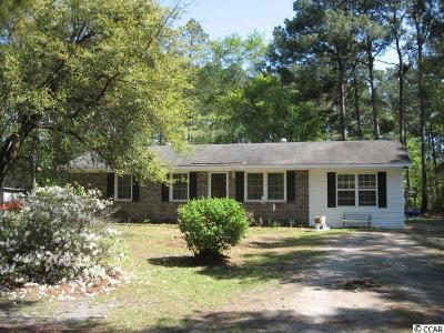 Myrtle Beach Single Family Home Active-Pend. Contingent Contra: 4231 Lilac Ln.