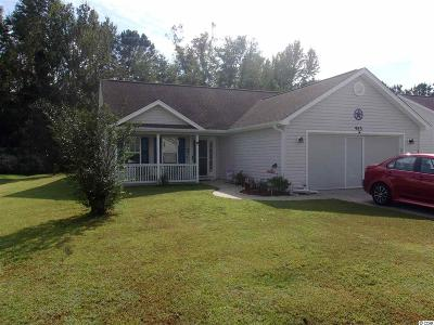 Myrtle Beach SC Single Family Home For Sale: $198,900