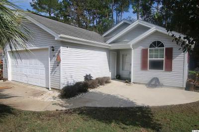 Myrtle Beach SC Single Family Home For Sale: $89,500
