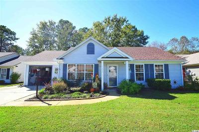 Murrells Inlet Single Family Home For Sale: 1643 Wood Thrush Dr.