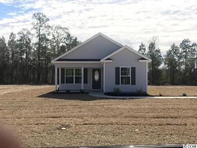 Conway SC Single Family Home For Sale: $131,900