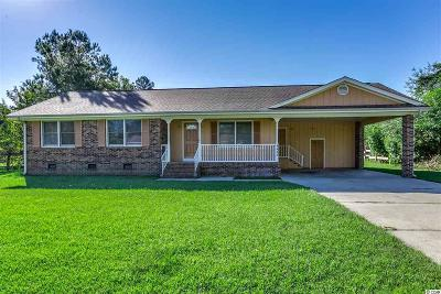Loris Single Family Home For Sale: 4640 Azalea Dr.