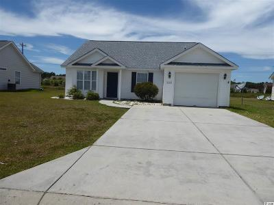 Myrtle Beach SC Single Family Home For Sale: $159,900