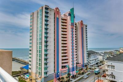 North Myrtle Beach Condo/Townhouse For Sale: 3500 N Ocean Blvd. #1010
