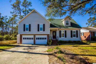North Myrtle Beach Single Family Home For Sale: 605 11th Ave. S