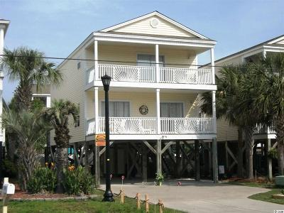 Surfside Beach Single Family Home For Sale: 714-A S Ocean Blvd.