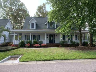 Pawleys Island Single Family Home For Sale: 154 Turtle Creek Ct.