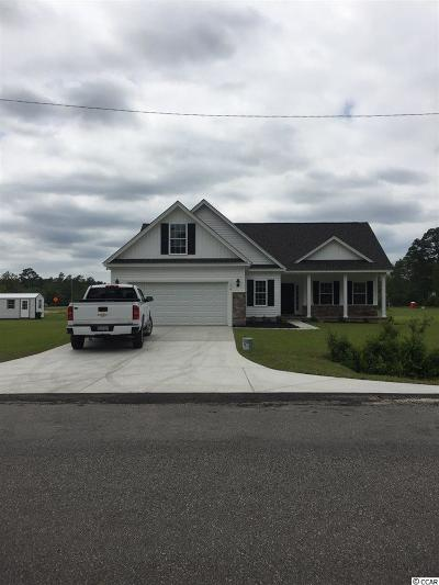Loris Single Family Home For Sale: 354 Carolina Dr.