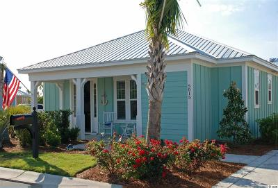 Myrtle Beach, North Myrtle Beach Single Family Home Active Under Contract: 5015 Sea Coral Way