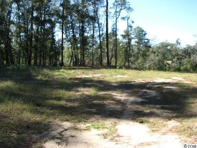 Georgetown County, Horry County Residential Lots & Land For Sale: Tbd Bear Bluff Dr.