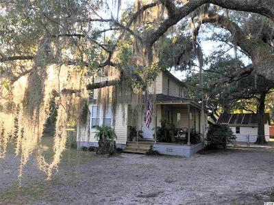 Georgetown Single Family Home Active-Pending Sale - Cash Ter: 2218 Old Charleston Rd.
