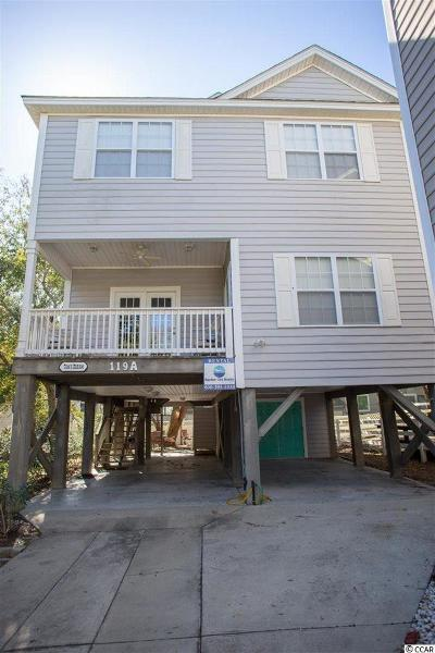 Surfside Beach Single Family Home For Sale: 119-A 9th Ave. N