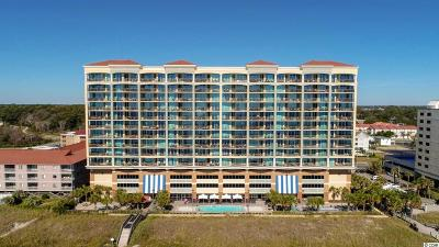 North Myrtle Beach Condo/Townhouse For Sale: 603 S Ocean Blvd. #PH 1412