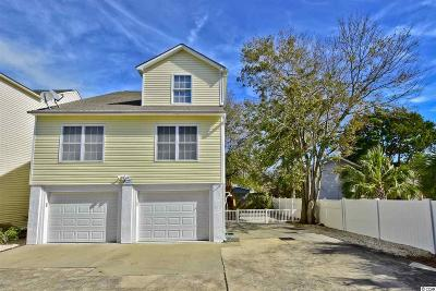 North Myrtle Beach Single Family Home For Sale: 1503 C Hillside Dr. S