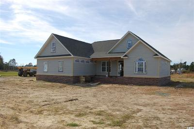 Loris Single Family Home For Sale: 1478 Red Bluff Rd.
