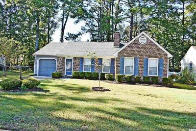 Murrells Inlet Single Family Home For Sale: 129 Woodlake Dr.