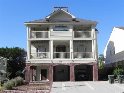 North Myrtle Beach Single Family Home For Sale: 1004 South Ocean Blvd.