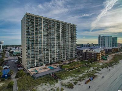 North Myrtle Beach Condo/Townhouse For Sale: 102 N Ocean Blvd. #1306