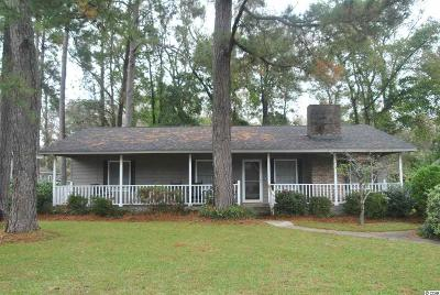North Myrtle Beach Single Family Home For Sale: 1102 27th Ave. S