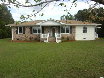 Loris Single Family Home For Sale: 140 Flagpatch Rd.