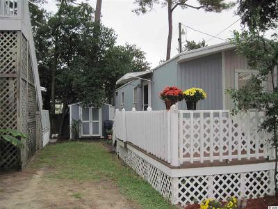 Myrtle Beach SC Single Family Home For Sale: $49,500
