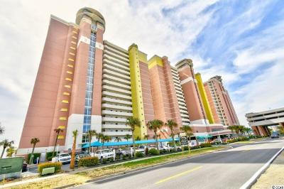 North Myrtle Beach Condo/Townhouse For Sale: 2711 S Ocean Blvd. #1711