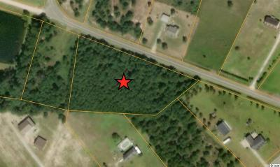 Loris Residential Lots & Land Active-Pending Sale - Cash Ter: Tract 2 Lot 1 Whispering Hills Rd.