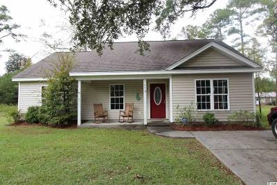 Georgetown Single Family Home For Sale: 83 Stono Ln.