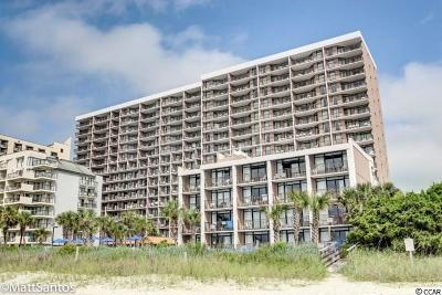 Myrtle Beach Condo/Townhouse For Sale: 7200 N Ocean Blvd. #125
