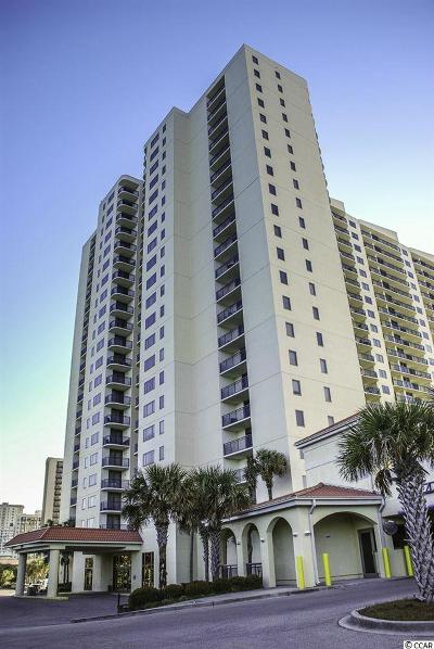Myrtle Beach Condo/Townhouse For Sale: 8560 Queensway Blvd. #1701