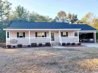 Conway Single Family Home For Sale: 3580 Steamer Trace Rd.