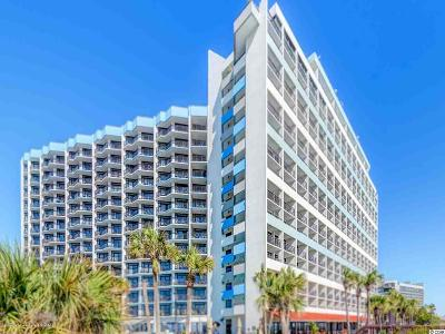 myrtle beach Condo/Townhouse For Sale: 7100 N Ocean Blvd. #710