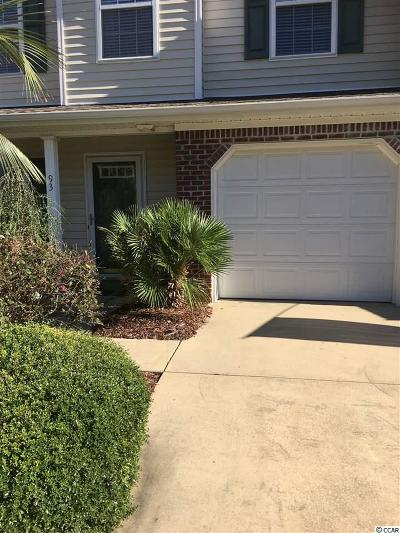 Pawleys Island Condo/Townhouse For Sale: 93 Palisades Loop #93