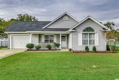 myrtle beach Single Family Home For Sale: 302 Worthington Circle