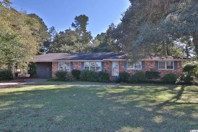 Conway Single Family Home Active-Pending Sale - Cash Ter: 3311 Cates Bay Hwy.
