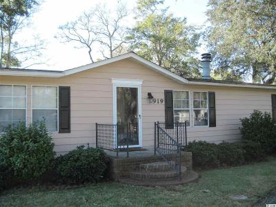 Murrells Inlet Single Family Home For Sale: 919 Trout Ct.