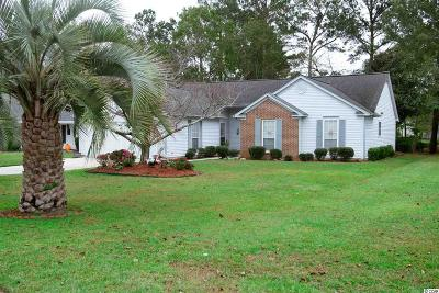 Murrells Inlet Single Family Home For Sale: 1619 Wood Thrush Dr.